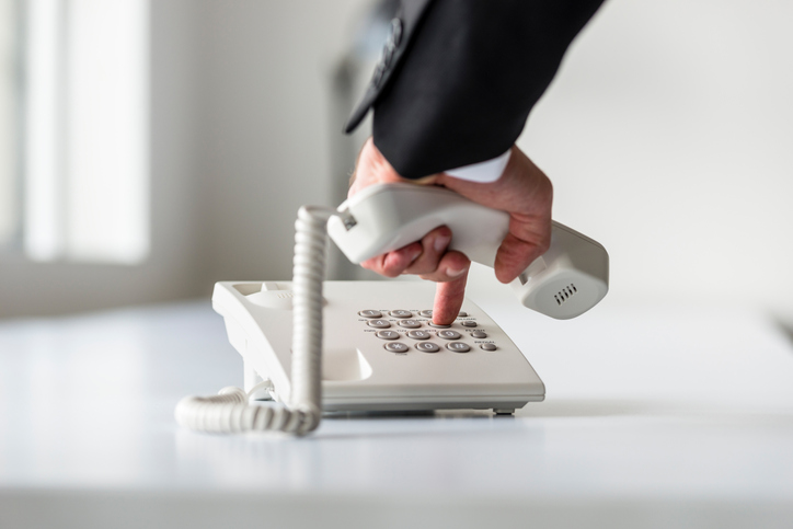 outdated-landline-phone-in-office